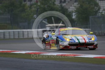 World © Octane Photographic Ltd. FIA World Endurance Championship (WEC), 6 Hours of Nurburgring , Germany - Practice, Friday 28th August 2015. AF Corse – Ferrari F458 Italia GT2 - LMGTE Pro – Davide Rigon and James Calado. Digital Ref : 1392LB1D3219