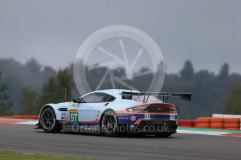 World © Octane Photographic Ltd. FIA World Endurance Championship (WEC), 6 Hours of Nurburgring , Germany - Practice, Friday 28th August 2015. Aston Martin Racing – Aston Martin Vantage V8 - LMGTE Pro – Darren Turner, Stefan Mucke and Jonathan Adam. Digital Ref : 1392LB1D3599