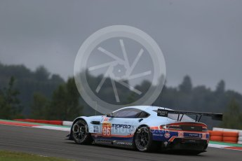 World © Octane Photographic Ltd. FIA World Endurance Championship (WEC), 6 Hours of Nurburgring , Germany - Practice, Friday 28th August 2015. Aston Martin Racing – Aston Martin Vantage GTE - LMGTE Am – Roalde Goethe, Stuart Hall and Francesco Castellacci. Digital Ref : 1392LB1D3608