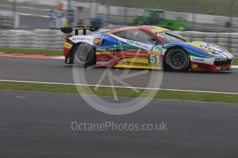 World © Octane Photographic Ltd. FIA World Endurance Championship (WEC), 6 Hours of Nurburgring , Germany - Practice, Friday 28th August 2015. AF Corse – Ferrari F458 Italia GT2 - LMGTE Pro – Gianmaria Bruni, Toni Vilander. Digital Ref : 1392LB7D4893