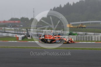 World © Octane Photographic Ltd. FIA World Endurance Championship (WEC), 6 Hours of Nurburgring , Germany - Practice, Friday 28th August 2015. G-Drive Racing – Nissan Ligier JS P2 – LMP2 – Gustavo Yacaman, Ricardo Gonzalez and Luis Felipe Derani. Digital Ref : 1392LB7D4913