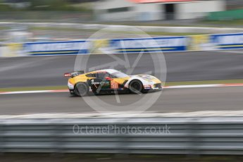 World © Octane Photographic Ltd. FIA World Endurance Championship (WEC), 6 Hours of Nurburgring , Germany - Practice, Friday 28th August 2015. Labre Competition – Chevrolet Corvette C7.R - LMGTE Am – Gianluca Roda, Paolo Ruberti and Kristian Poulson. Digital Ref : 1392LB7D5368