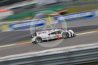 World © Octane Photographic Ltd. FIA World Endurance Championship (WEC), 6 Hours of Nurburgring , Germany - Practice, Friday 28th August 2015. Porsche Team – Porsche 919 Hybrid - LMP1 - Timo Bernhard, Mark Webber and Brendon Hartley. Digital Ref : 1392LB7D5436