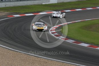 World © Octane Photographic Ltd. FIA World Endurance Championship (WEC), 6 Hours of Nurburgring , Germany - Press Conference, Friday 28th August 2015. Labre Competition – Chevrolet Corvette C7.R - LMGTE Am – Gianluca Roda, Paolo Ruberti and Kristian Poulson and Porsche Team – Porsche 919 Hybrid - LM LMP1 – Romain Dumas, Neel Jani and Marc Lieb. Digital Ref : 1394LB5D0442
