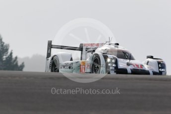 World © Octane Photographic Ltd. FIA World Endurance Championship (WEC), 6 Hours of Nurburgring , Germany - Practice 3, Saturday 29th August 2015. Porsche Team – Porsche 919 Hybrid - LMP1 - Timo Bernhard, Mark Webber and Brendon Hartley. Digital Ref : 1395LB1D4996