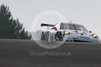 World © Octane Photographic Ltd. FIA World Endurance Championship (WEC), 6 Hours of Nurburgring , Germany - Practice 3, Saturday 29th August 2015. Porsche Team Manthey – Porsche 911RSR - LMGTE Pro – Richard Lietz and Michael Chistensen. Digital Ref : 1395LB1D5035