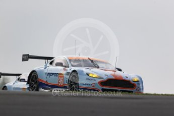 World © Octane Photographic Ltd. FIA World Endurance Championship (WEC), 6 Hours of Nurburgring , Germany - Practice 3, Saturday 29th August 2015. Aston Martin Racing – Aston Martin Vantage GTE - LMGTE Am – Roalde Goethe, Stuart Hall and Francesco Castellacci. Digital Ref : 1395LB1D5124
