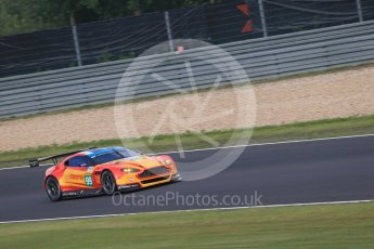 World © Octane Photographic Ltd. FIA World Endurance Championship (WEC), 6 Hours of Nurburgring , Germany - Practice 3, Saturday 29th August 2015. Aston Martin Racing V8 – Aston Martin Vantage V8 - LMGTE Pro – Fernando Rees, Alex MacDowell and Richie Stanaway. Digital Ref : 1395LB1D5208