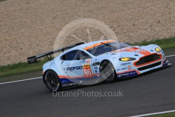 World © Octane Photographic Ltd. FIA World Endurance Championship (WEC), 6 Hours of Nurburgring , Germany - Practice 3, Saturday 29th August 2015. Aston Martin Racing – Aston Martin Vantage GTE - LMGTE Am – Roalde Goethe, Stuart Hall and Francesco Castellacci. Digital Ref : 1395LB1D5234