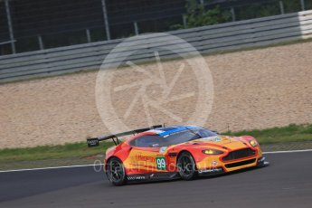 World © Octane Photographic Ltd. FIA World Endurance Championship (WEC), 6 Hours of Nurburgring , Germany - Practice 3, Saturday 29th August 2015. Aston Martin Racing V8 – Aston Martin Vantage V8 - LMGTE Pro – Fernando Rees, Alex MacDowell and Richie Stanaway. Digital Ref : 1395LB1D5280