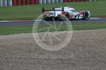 World © Octane Photographic Ltd. FIA World Endurance Championship (WEC), 6 Hours of Nurburgring , Germany - Practice 3, Saturday 29th August 2015. Audi Sport Team Joest- Audi R18 e-tron Quatrro - LMP1 - Andre Lotterer, Benoit Treluyer and Marcel Fassler. Digital Ref : 1395LB1D5483