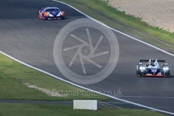 World © Octane Photographic Ltd. FIA World Endurance Championship (WEC), 6 Hours of Nurburgring , Germany - Practice 3, Saturday 29th August 2015. Straka Racing – Gibson 015S - LMP2 – Nick Leventis, Jonny Kane and Danny Watts and SMP Racing – Ferrari F458 Italia GT2 - LMGTE Am – Viktor Shaitar, Aleksey Basov and Andrea Bertolini. Digital Ref : 1395LB1D5507