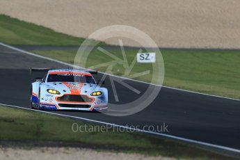 World © Octane Photographic Ltd. FIA World Endurance Championship (WEC), 6 Hours of Nurburgring , Germany - Practice 3, Saturday 29th August 2015. Aston Martin Racing – Aston Martin Vantage V8 - LMGTE Pro – Marco Sorensen and Christoffer Nygaard. Digital Ref : 1395LB1D5688