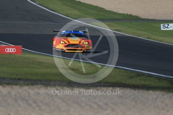 World © Octane Photographic Ltd. FIA World Endurance Championship (WEC), 6 Hours of Nurburgring , Germany - Practice 3, Saturday 29th August 2015. Aston Martin Racing V8 – Aston Martin Vantage V8 - LMGTE Pro – Fernando Rees, Alex MacDowell and Richie Stanaway. Digital Ref : 1395LB1D5689
