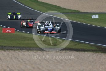 World © Octane Photographic Ltd. FIA World Endurance Championship (WEC), 6 Hours of Nurburgring , Germany - Practice 3, Saturday 29th August 2015. Straka Racing – Gibson 015S - LMP2 – Nick Leventis, Jonny Kane and Danny Watts and Team SARD Morand – Morgan Evo – LMP2 – Oliver Webb, Pierre Ragues and Archie Hamilton. Digital Ref : 1395LB1D5702