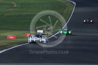 World © Octane Photographic Ltd. FIA World Endurance Championship (WEC), 6 Hours of Nurburgring , Germany - Practice 3, Saturday 29th August 2015. Porsche Team – Porsche 919 Hybrid - LMP1 - Timo Bernhard, Mark Webber and Brendon Hartley and Extreme Speed Motorsports (ESM) - HPD Ligier JS P2 – LMP2 – Scott Sharp, Ryan Dalziel and David Heinemeier Hansson. Digital Ref : 1395LB1D5808