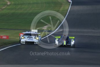 World © Octane Photographic Ltd. FIA World Endurance Championship (WEC), 6 Hours of Nurburgring , Germany - Practice 3, Saturday 29th August 2015. Team byKolles – CLMP1/01 - LMP1 - Simon Trummer and Pierre Kaffer and Porsche Team Manthey - Porsche 911RSR - LMGTE Pro – Patrick Pilet and Frederick Makowiecki. Digital Ref : 1395LB1D5821