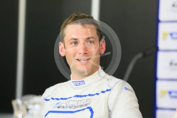 World © Octane Photographic Ltd. FIA World Endurance Championship (WEC), 6 Hours of Nurburgring , Germany - Qualifying Press Conference, Saturday 29th August 2015. KCMG – Oreca 05 – LMP2 – Nick Tandy. Digital Ref : 1397LB5D1133