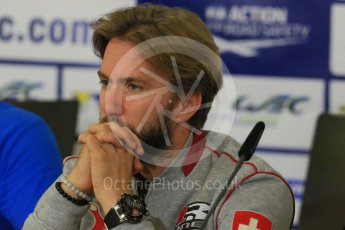 World © Octane Photographic Ltd. FIA World Endurance Championship (WEC), 6 Hours of Nurburgring , Germany - Press Conference, Friday 28th August 2015. Rebellion Racing – Nick Heidfeld. Digital Ref : 1393LB5D0209