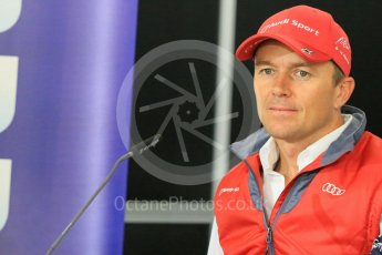 World © Octane Photographic Ltd. FIA World Endurance Championship (WEC), 6 Hours of Nurburgring , Germany - Press Conference, Friday 28th August 2015. Audi Sport Team Joest- Marcel Fassler. Digital Ref : 1393LB5D0217