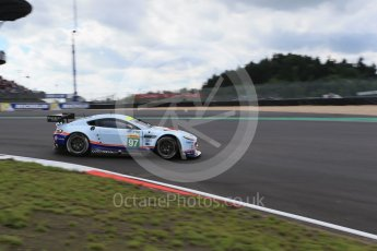 World © Octane Photographic Ltd. FIA World Endurance Championship (WEC), 6 Hours of Nurburgring , Germany - Qualifying, Saturday 29th August 2015. Aston Martin Racing – Aston Martin Vantage V8 - LMGTE Pro – Darren Turner, Stefan Mucke and Jonathan Adam. Digital Ref : 1396LB1D5956