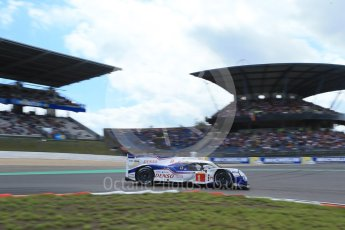 World © Octane Photographic Ltd. FIA World Endurance Championship (WEC), 6 Hours of Nurburgring , Germany - Qualifying, Saturday 29th August 2015. Toyota Racing – Toyota TS040 Hybrid - LMP1 - Anthony Davidson, Sebastien Buemi and Kazuki Nakajima. Digital Ref : 1396LB1D6041