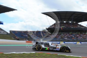 World © Octane Photographic Ltd. FIA World Endurance Championship (WEC), 6 Hours of Nurburgring , Germany - Qualifying, Saturday 29th August 2015. Straka Racing – Gibson 015S - LMP2 – Nick Leventis, Jonny Kane and Danny Watts. Digital Ref : 1396LB1D6087