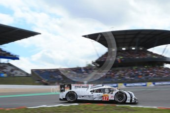 World © Octane Photographic Ltd. FIA World Endurance Championship (WEC), 6 Hours of Nurburgring , Germany - Qualifying, Saturday 29th August 2015. Porsche Team – Porsche 919 Hybrid - LMP1 - Timo Bernhard, Mark Webber and Brendon Hartley. Digital Ref : 1396LB1D6117