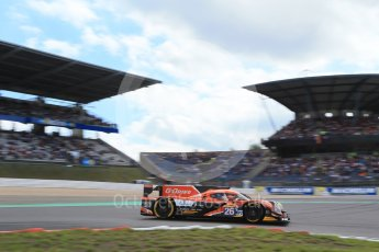 World © Octane Photographic Ltd. FIA World Endurance Championship (WEC), 6 Hours of Nurburgring , Germany - Qualifying, Saturday 29th August 2015. G-Drive Racing – Nissan Ligier JS P2 – LMP2 – Roman Rusinov, Julien Canal and Sam Bird. Digital Ref : 1396LB1D6143