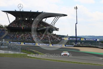 World © Octane Photographic Ltd. FIA World Endurance Championship (WEC), 6 Hours of Nurburgring , Germany - Qualifying, Saturday 29th August 2015. Aston Martin Racing – Aston Martin Vantage GTE - LMGTE Am – Roalde Goethe, Stuart Hall and Francesco Castellacci. Digital Ref : 1396LB5D0765