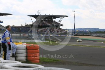 World © Octane Photographic Ltd. FIA World Endurance Championship (WEC), 6 Hours of Nurburgring , Germany - Qualifying, Saturday 29th August 2015. Dempsey-Proton Racing – Porsche 911 RSR - LMGTE Am – Patrick Dempsey, Patrick Long and Marco Seefried. Digital Ref : 1396LB5D0889