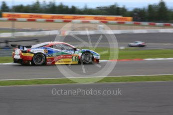 World © Octane Photographic Ltd. FIA World Endurance Championship (WEC), 6 Hours of Nurburgring , Germany - Qualifying, Saturday 29th August 2015. AF Corse – Ferrari F458 Italia GT2 - LMGTE Pro – Gianmaria Bruni, Toni Vilander. Digital Ref : 1396LB5D0910