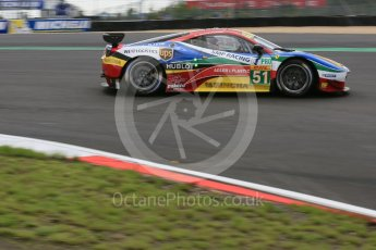 World © Octane Photographic Ltd. FIA World Endurance Championship (WEC), 6 Hours of Nurburgring , Germany - Qualifying, Saturday 29th August 2015. AF Corse – Ferrari F458 Italia GT2 - LMGTE Pro – Gianmaria Bruni, Toni Vilander. Digital Ref : 1396LB5D0943