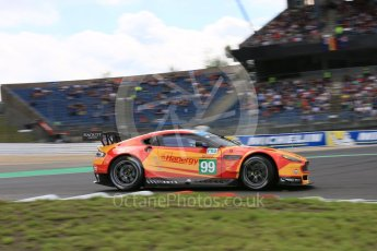 World © Octane Photographic Ltd. FIA World Endurance Championship (WEC), 6 Hours of Nurburgring , Germany - Qualifying, Saturday 29th August 2015. Aston Martin Racing V8 – Aston Martin Vantage V8 - LMGTE Pro – Fernando Rees, Alex MacDowell and Richie Stanaway. Digital Ref : 1396LB5D0979