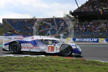 World © Octane Photographic Ltd. FIA World Endurance Championship (WEC), 6 Hours of Nurburgring , Germany - Qualifying, Saturday 29th August 2015. Toyota Racing – Toyota TS040 Hybrid - LMP1 - Alexander Wurz, Stephane Sarrazin and Mike Conway. Digital Ref : 1396LB5D1000