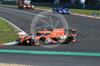 World © Octane Photographic Ltd. FIA World Endurance Championship (WEC), 6 Hours of Nurburgring , Germany - Race, Sunday 30th August 2015. G-Drive Racing – Nissan Ligier JS P2 – LMP2 – Roman Rusinov, Julien Canal and Sam Bird. Digital Ref : 1398LB1D6429