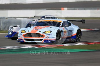 World © Octane Photographic Ltd. FIA World Endurance Championship (WEC), 6 Hours of Nurburgring , Germany - Race, Sunday 30th August 2015. Aston Martin Racing – Aston Martin Vantage GTE - LMGTE Am – Roalde Goethe, Stuart Hall and Francesco Castellacci. Digital Ref : 1398LB1D6802
