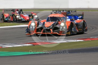 World © Octane Photographic Ltd. FIA World Endurance Championship (WEC), 6 Hours of Nurburgring , Germany - Race, Sunday 30th August 2015. G-Drive Racing – Nissan Ligier JS P2 – LMP2 – Gustavo Yacaman, Ricardo Gonzalez and Luis Felipe Derani, Signatech Alpine – Alpine A450b - LMP2 - Nelson Panciatici, Paul-Loup Chatin and Vincent Capillaire and Team SARD Morand – Morgan Evo – LMP2 – Oliver Webb, Pierre Ragues and Archie Hamilton. Digital Ref : 1398LB1D6841