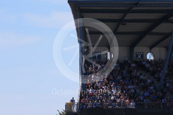 World © Octane Photographic Ltd. FIA World Endurance Championship (WEC), 6 Hours of Nurburgring , Germany - Race, Sunday 30th August 2015. WEC fans in the grandstands. Digital Ref : 1398LB1D6986