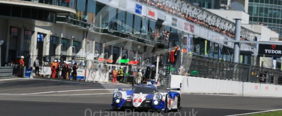 World © Octane Photographic Ltd. FIA World Endurance Championship (WEC), 6 Hours of Nurburgring , Germany - Race, Sunday 30th August 2015. Toyota Racing – Toyota TS040 Hybrid - LMP1 - Alexander Wurz, Stephane Sarrazin and Mike Conway. Digital Ref : 1398LB1D7044