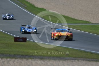 World © Octane Photographic Ltd. FIA World Endurance Championship (WEC), 6 Hours of Nurburgring , Germany - Race, Sunday 30th August 2015. Aston Martin Racing V8 – Aston Martin Vantage V8 - LMGTE Pro – Fernando Rees, Alex MacDowell and Richie Stanaway, KCMG – Oreca 05 – LMP2 – Matthew Howson, Richard Bradley and Nick Tandy and Toyota Racing – Toyota TS040 Hybrid - LMP1 - Alexander Wurz, Stephane Sarrazin and Mike Conway. Digital Ref : 1398LB1D7369