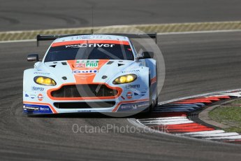 World © Octane Photographic Ltd. FIA World Endurance Championship (WEC), 6 Hours of Nurburgring , Germany - Race, Sunday 30th August 2015. Aston Martin Racing – Aston Martin Vantage V8 - LMGTE Pro – Marco Sorensen and Christoffer Nygaard. Digital Ref : 1398LB1D7553
