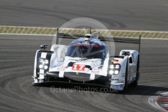 World © Octane Photographic Ltd. FIA World Endurance Championship (WEC), 6 Hours of Nurburgring , Germany - Race, Sunday 30th August 2015. Porsche Team – Porsche 919 Hybrid - LMP1 - Timo Bernhard, Mark Webber and Brendon Hartley. Digital Ref : 1398LB1D7610