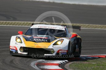 World © Octane Photographic Ltd. FIA World Endurance Championship (WEC), 6 Hours of Nurburgring , Germany - Race, Sunday 30th August 2015. Labre Competition – Chevrolet Corvette C7.R - LMGTE Am – Gianluca Roda, Paolo Ruberti and Kristian Poulson. Digital Ref : 1398LB1D7729