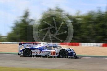 World © Octane Photographic Ltd. FIA World Endurance Championship (WEC), 6 Hours of Nurburgring , Germany - Race, Sunday 30th August 2015. Toyota Racing – Toyota TS040 Hybrid - LMP1 - Anthony Davidson, Sebastien Buemi and Kazuki Nakajima. Digital Ref : 1398LB5D1427