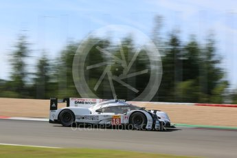 World © Octane Photographic Ltd. FIA World Endurance Championship (WEC), 6 Hours of Nurburgring , Germany - Race, Sunday 30th August 2015. Porsche Team – Porsche 919 Hybrid - LM LMP1 – Romain Dumas, Neel Jani and Marc Lieb. Digital Ref : 1398LB5D1444