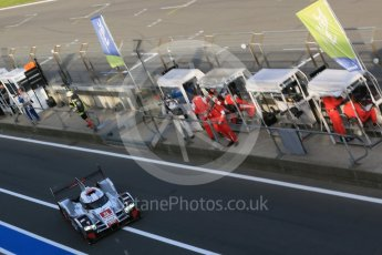 World © Octane Photographic Ltd. FIA World Endurance Championship (WEC), 6 Hours of Nurburgring , Germany - Race, Sunday 30th August 2015. Audi Sport Team Joest- Audi R18 e-tron Quatrro - LMP1 - Oliver Jarvis, Lucas di Grassi and Loic Duval. Digital Ref : 1398LB5D1918