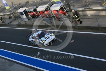 World © Octane Photographic Ltd. FIA World Endurance Championship (WEC), 6 Hours of Nurburgring , Germany - Race, Sunday 30th August 2015. Porsche Team Manthey – Porsche 911RSR - LMGTE Pro – Richard Lietz and Michael Chistensen. Digital Ref : 1398LB5D2050