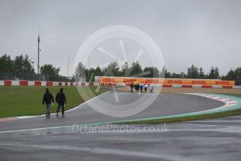 World © Octane Photographic Ltd. FIA World Endurance Championship (WEC), 6 Hours of Nurburgring , Germany - Setup, Thursday 27th August 2015. Teams on the track walk. Digital Ref : 1391LB1D2528