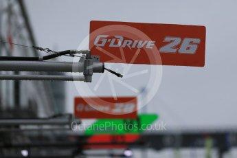 World © Octane Photographic Ltd. FIA World Endurance Championship (WEC), 6 Hours of Nurburgring , Germany - Setup, Thursday 27th August 2015. G-Drive Racing – Nissan Ligier JS P2 – LMP2 – Roman Rusinov, Julien Canal and Sam Bird. Digital Ref : 1391LB1D2537